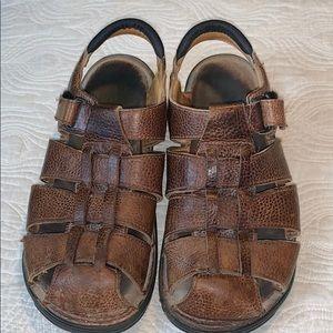 Men's Clarks leather sandals size 11 M